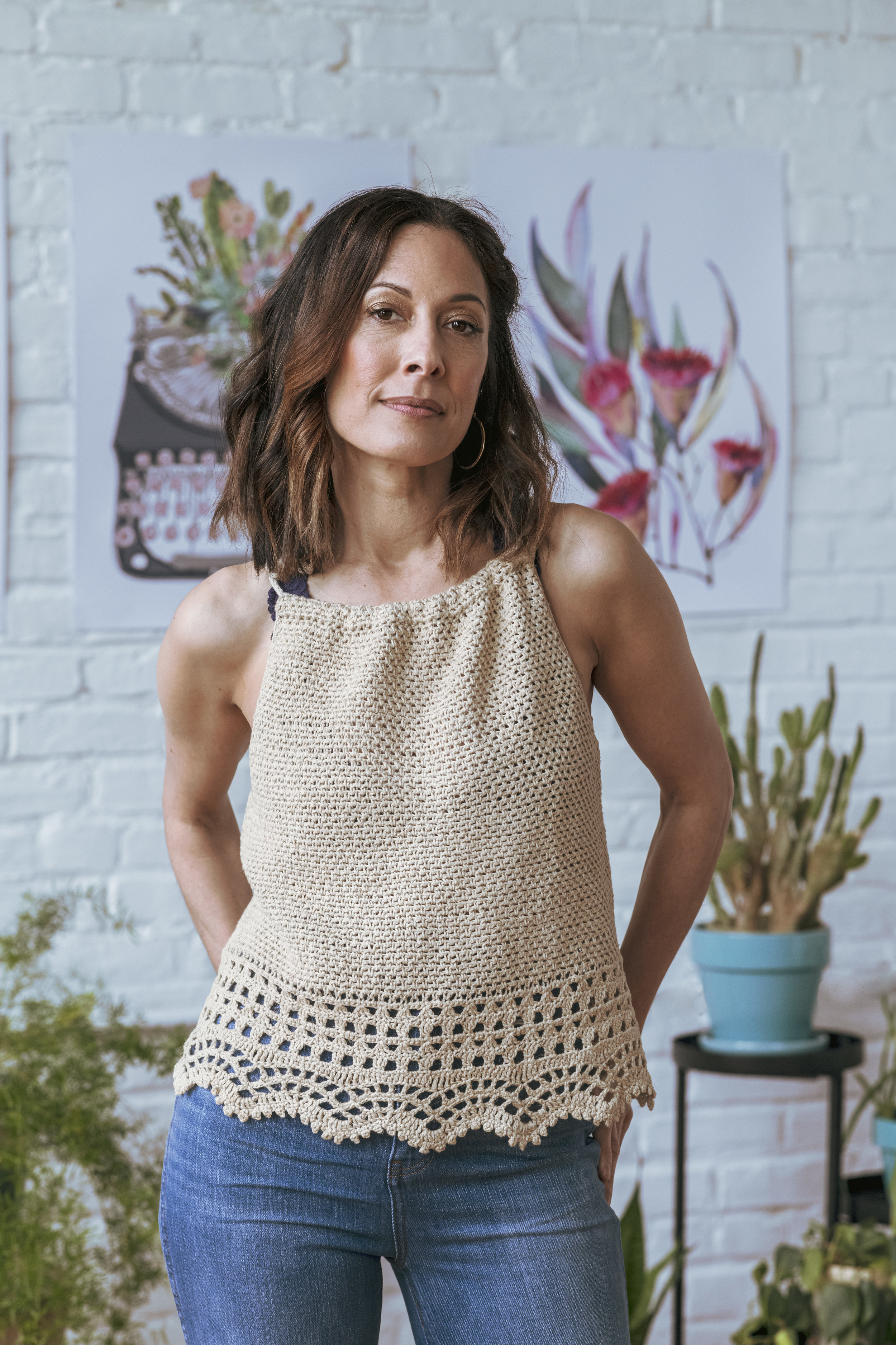 Canyon Camisole by Amy Gunderson. Image by Linette Kielinski