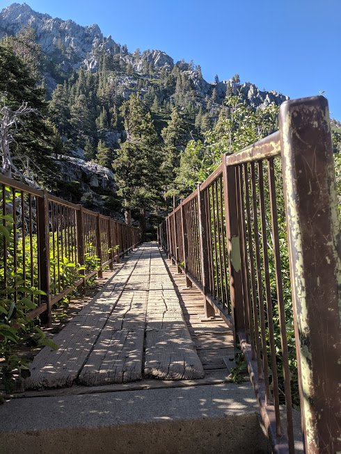 South Tahoe Hiking Trail