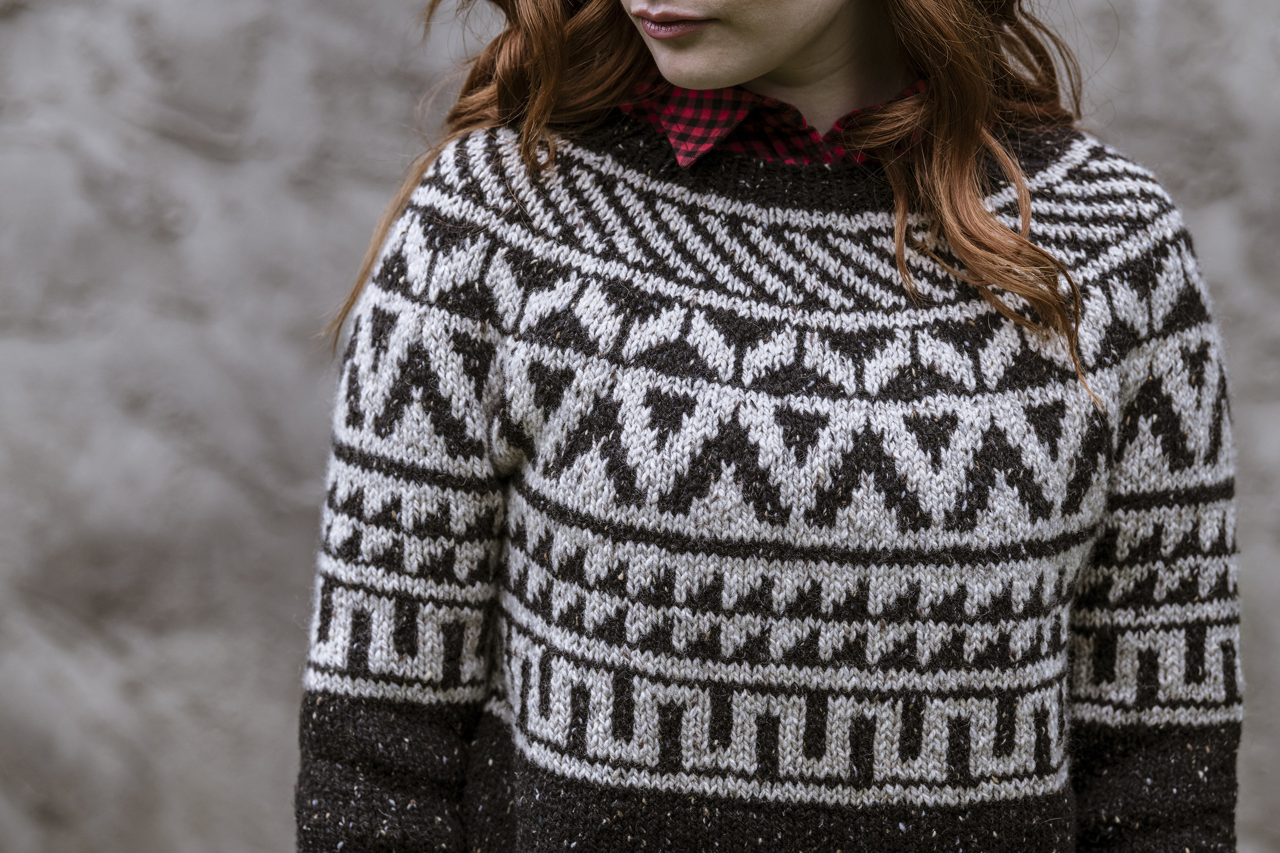 Newbold Pullover by Kate Gagnon Osborn