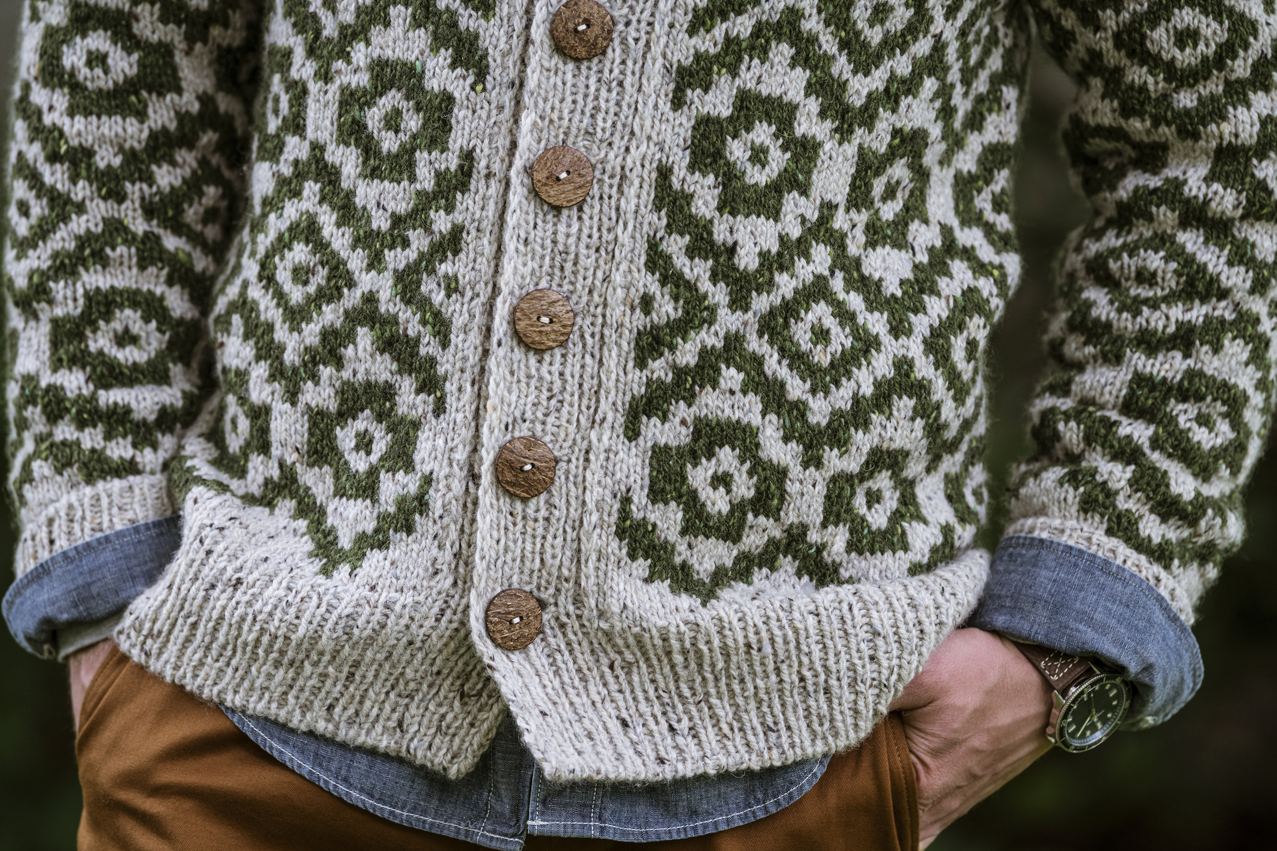 Powelton Cardigan by Meghan Babin