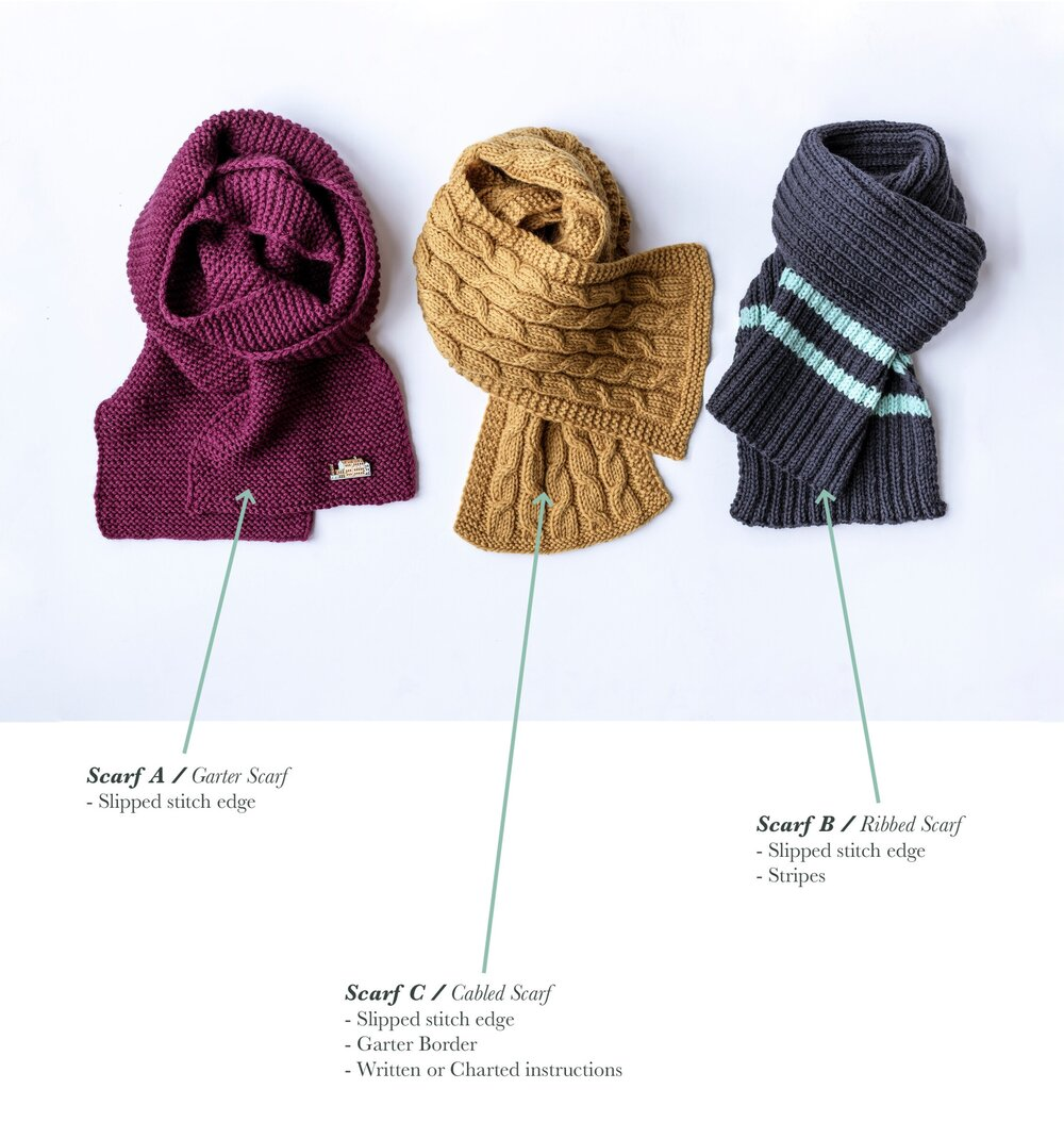 Pattern Suggestions for Beginner Knitters