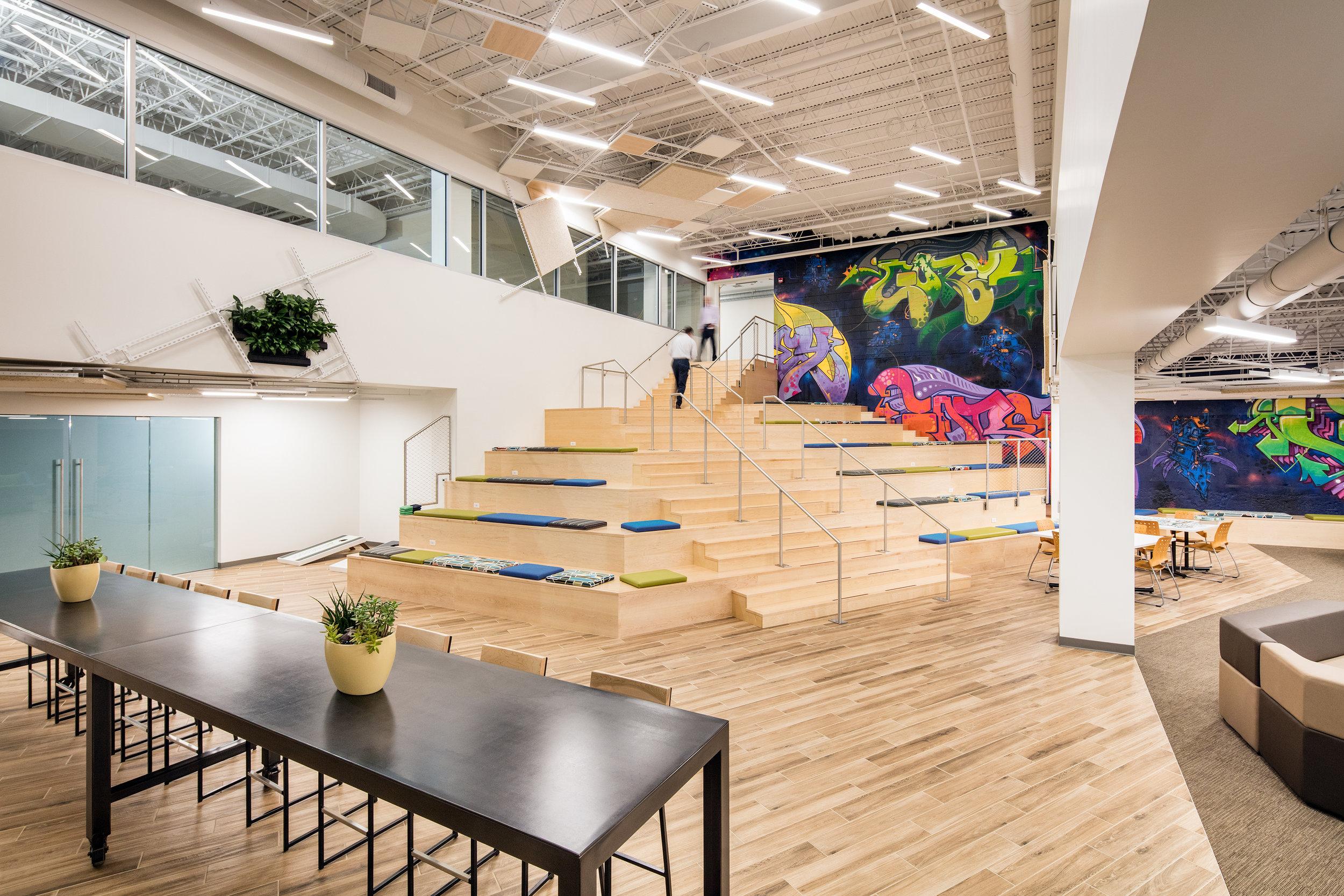 Center at Innovation Drive -