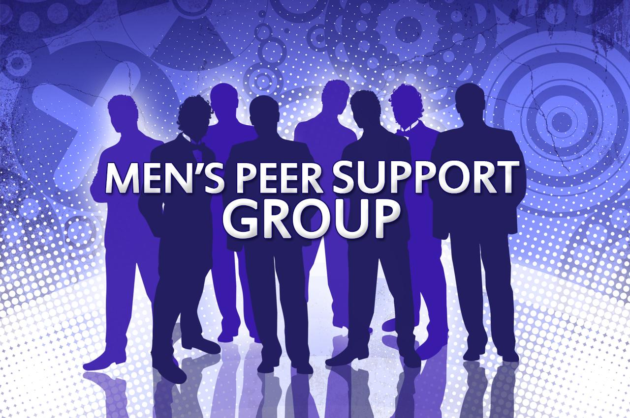 Men's Peer Support Group banner
