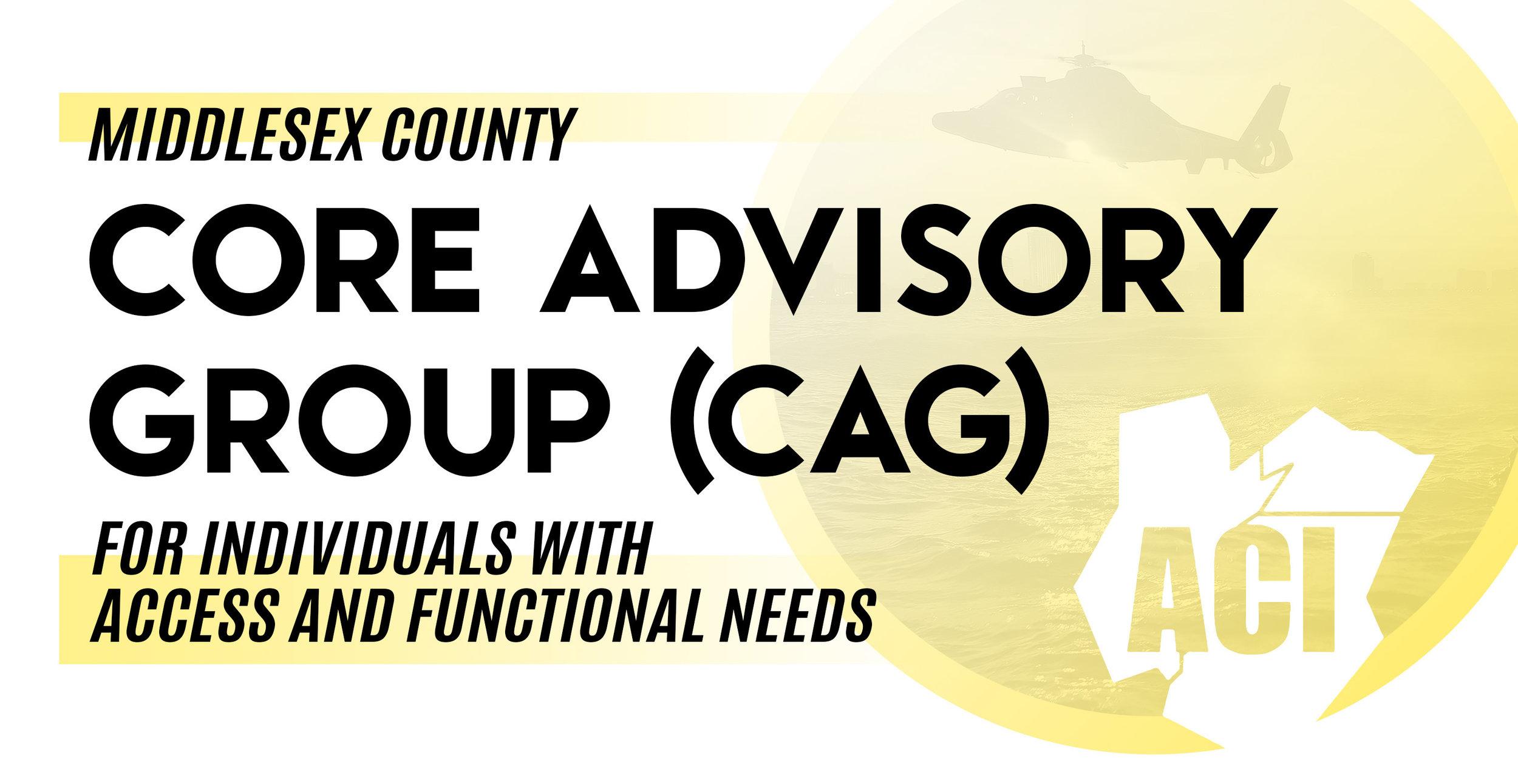core advisory group cag meeting