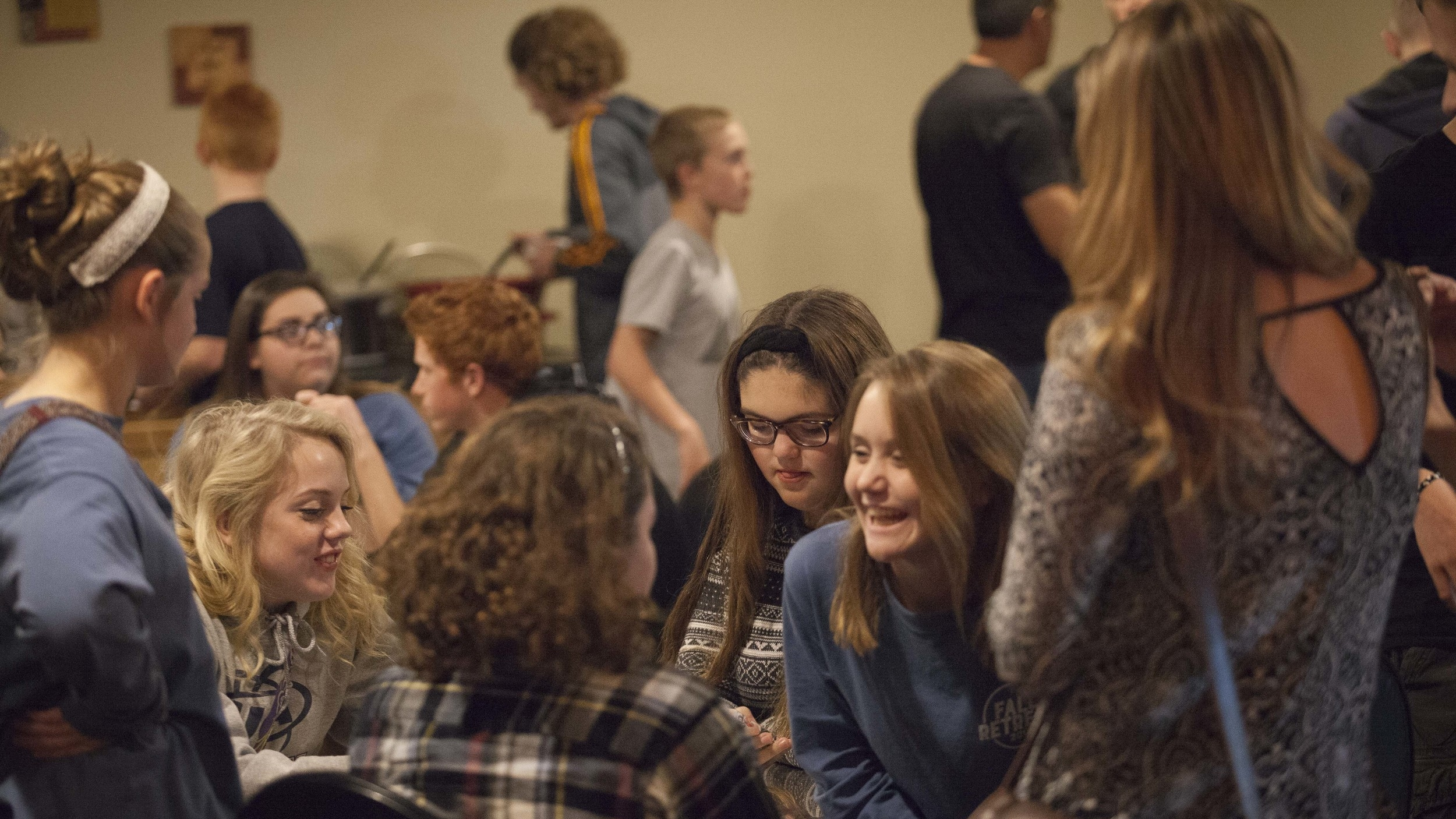 Student Service:   Sundays - 6PM  Main Auditorium