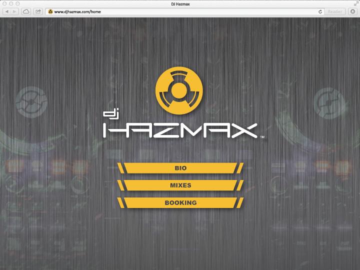 Website – home