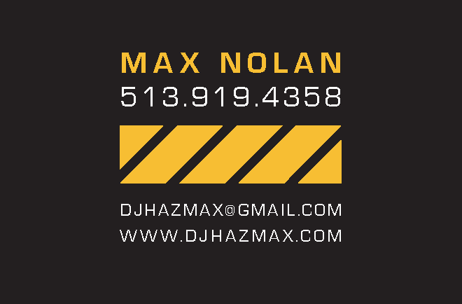 Business Card – back