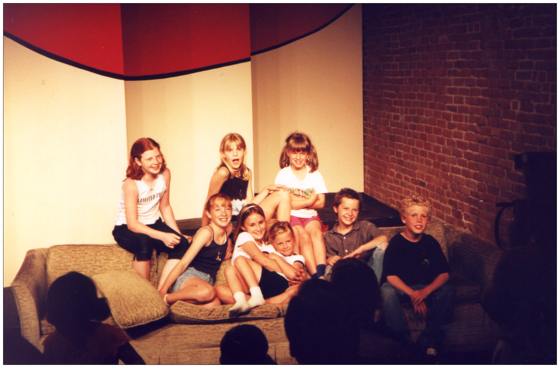 """""""Crocodile Couch"""" at Nonesuch (at the time Bas Bleu.)"""