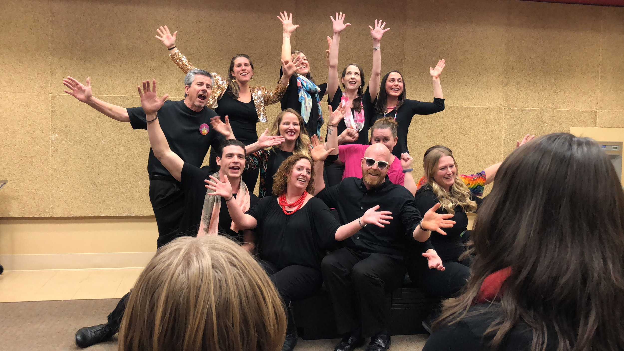 Triple Threat: Adult Musical Theatre performs