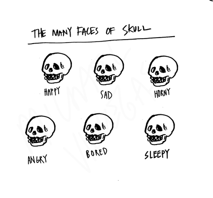 many faces of skull_SS_BW_2014.jpg