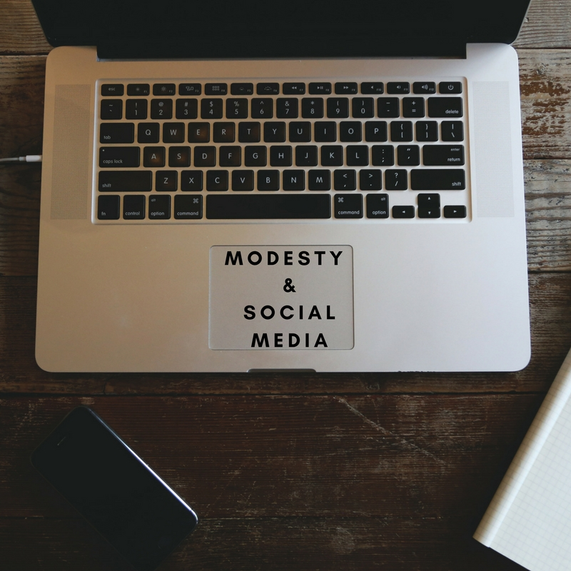 modesty and social media image