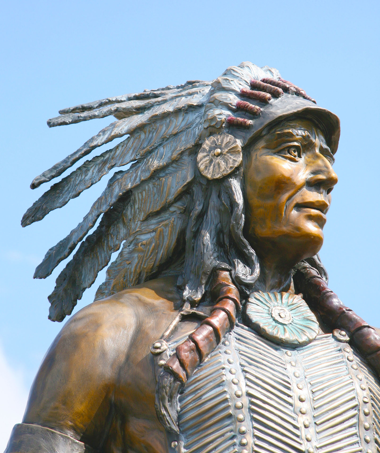 The Warrior, 120% life-size, price: $60,000.