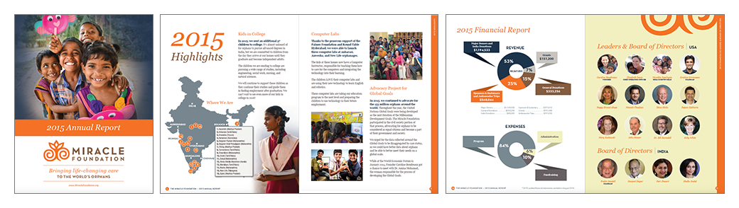 Miracle Foundation Annual Report
