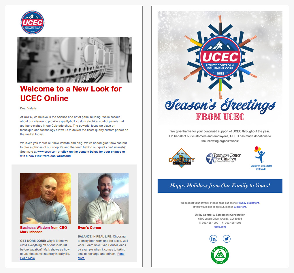UCEC Email Templates