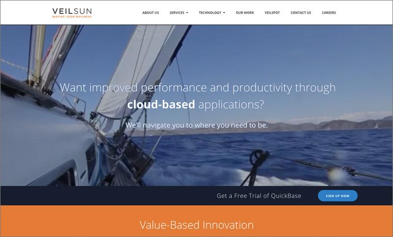 VeilSun Homepage