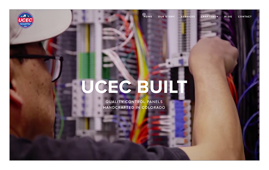 Magnetika Web Design: Utility Control and Equipment Corp (UCEC)