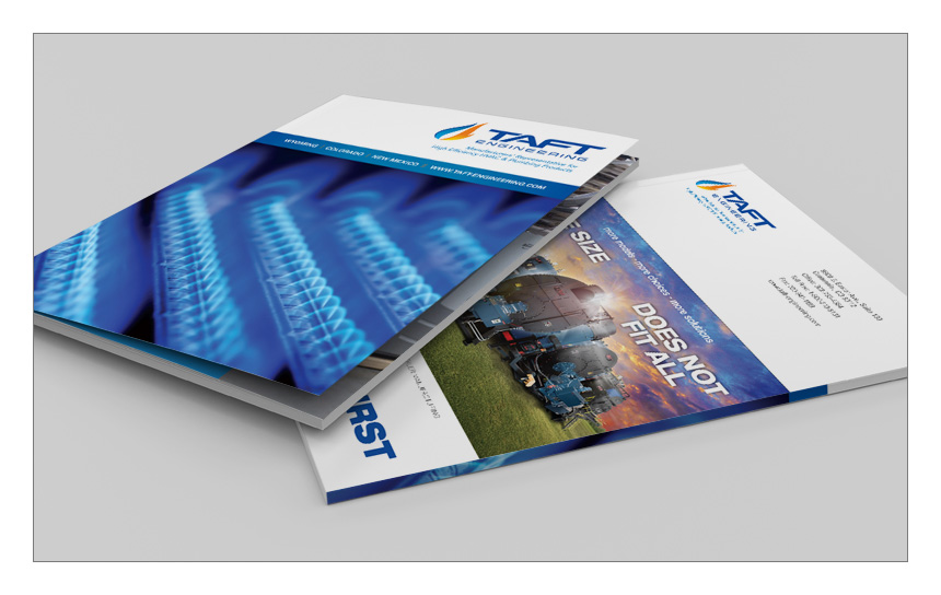 Magnetika Content Marketing Agency: Folder/Brochure