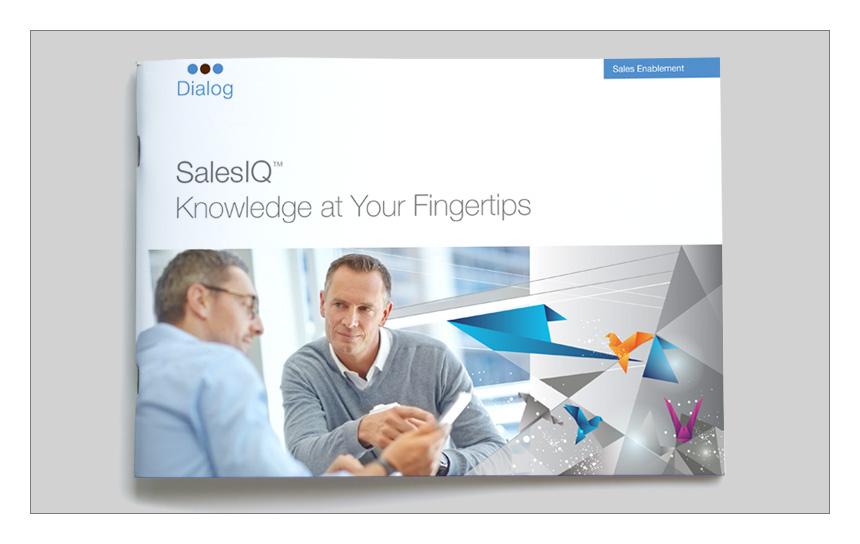 Magnetika Content Marketing Agency: Dialog brochure