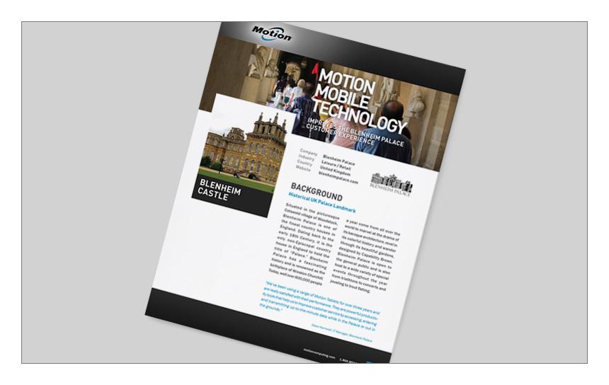 Magnetika Content Marketing: Motion Computing Case Study