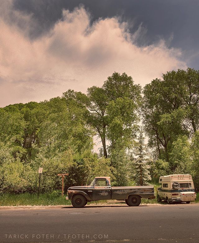 In #aspen #colorado, while attending #aspenideasfestival a few years back, I got bored of photographing #mountains so I ventured off and  found this sweet old #ford #truck to photograph, similar to the one I found in the desert in Arizona. #f100 #fordf100 shot on my trusty  #canon #1dsmark3 with #canon2470mm f/2.8 L II #framedongitzo . #myexposureedit . . . . . . . #teamcanon #canonbringit #gitzoinspires #canonphotography #clouds  #landscapephotography #texasphotographer #travelphotography #houstonphotographer #fordtrucks #f150 #landscape #sky #tfoteh #commercialphotography #commercialphotographer #streetphotography