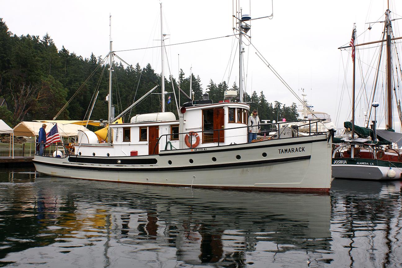 B.C. Forestry vessel,Tamarack