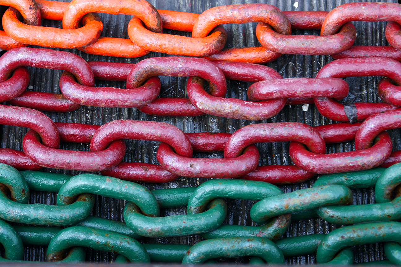 """Chain, chain, chain"""