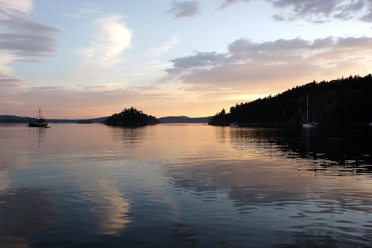 Deer Harbor sunset