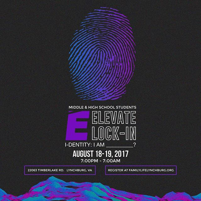 Elevate Lock In is coming! August 18th-19th 2017 Register online now at the link in bio! 🔥🔥🔒🔒