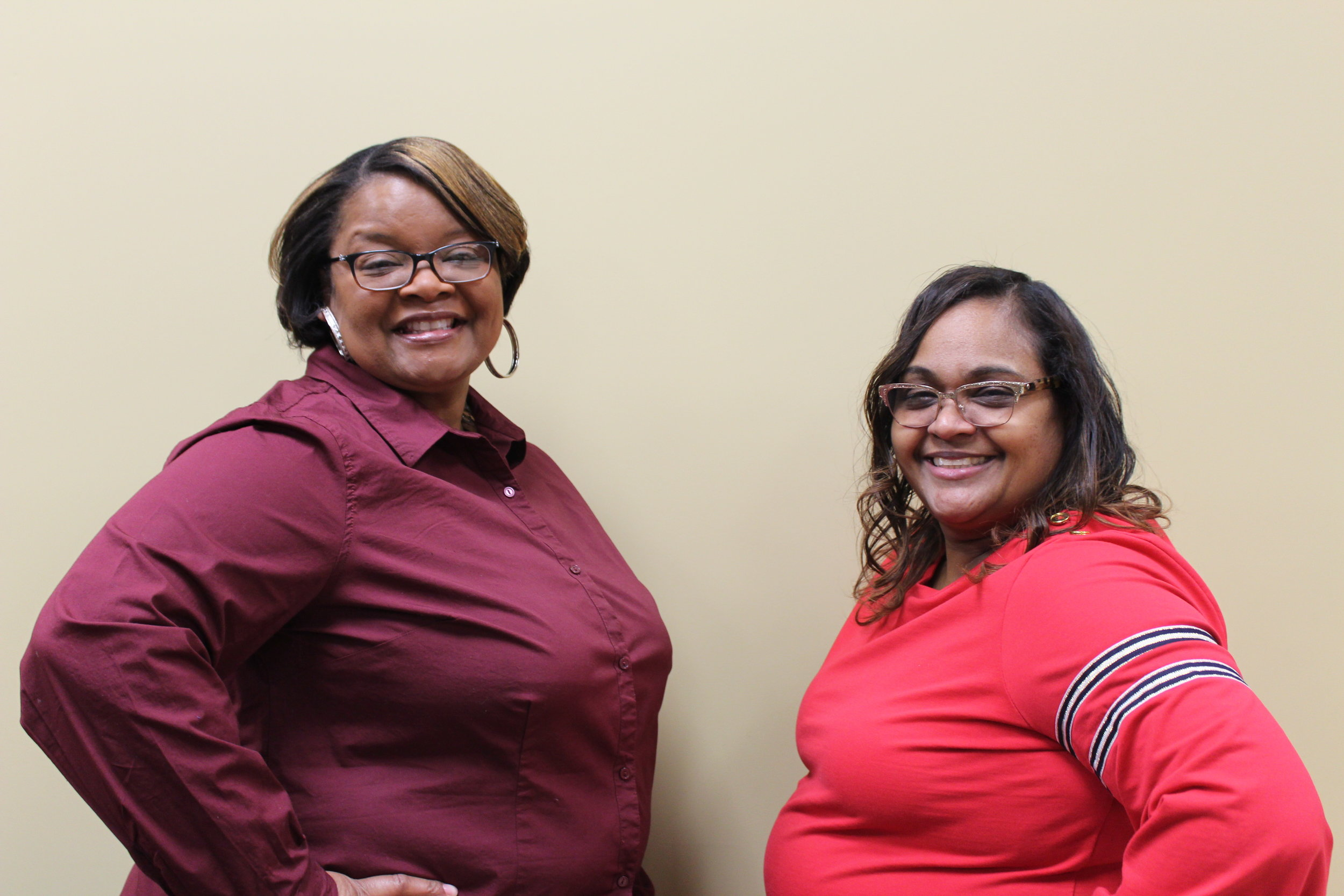 Tina Sessoms & Sharon Whitten   Host: I Am My Sister's Keeper  Date/Time: Mondays @ 7:00PM  Location: Family Life Community Center
