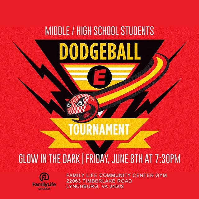 Attention Middle School & High School Students / Elevate Will Hosting A Dodgeball Tournament Tomorrow Night at 7:30PM • Spread The Word @theflchurch