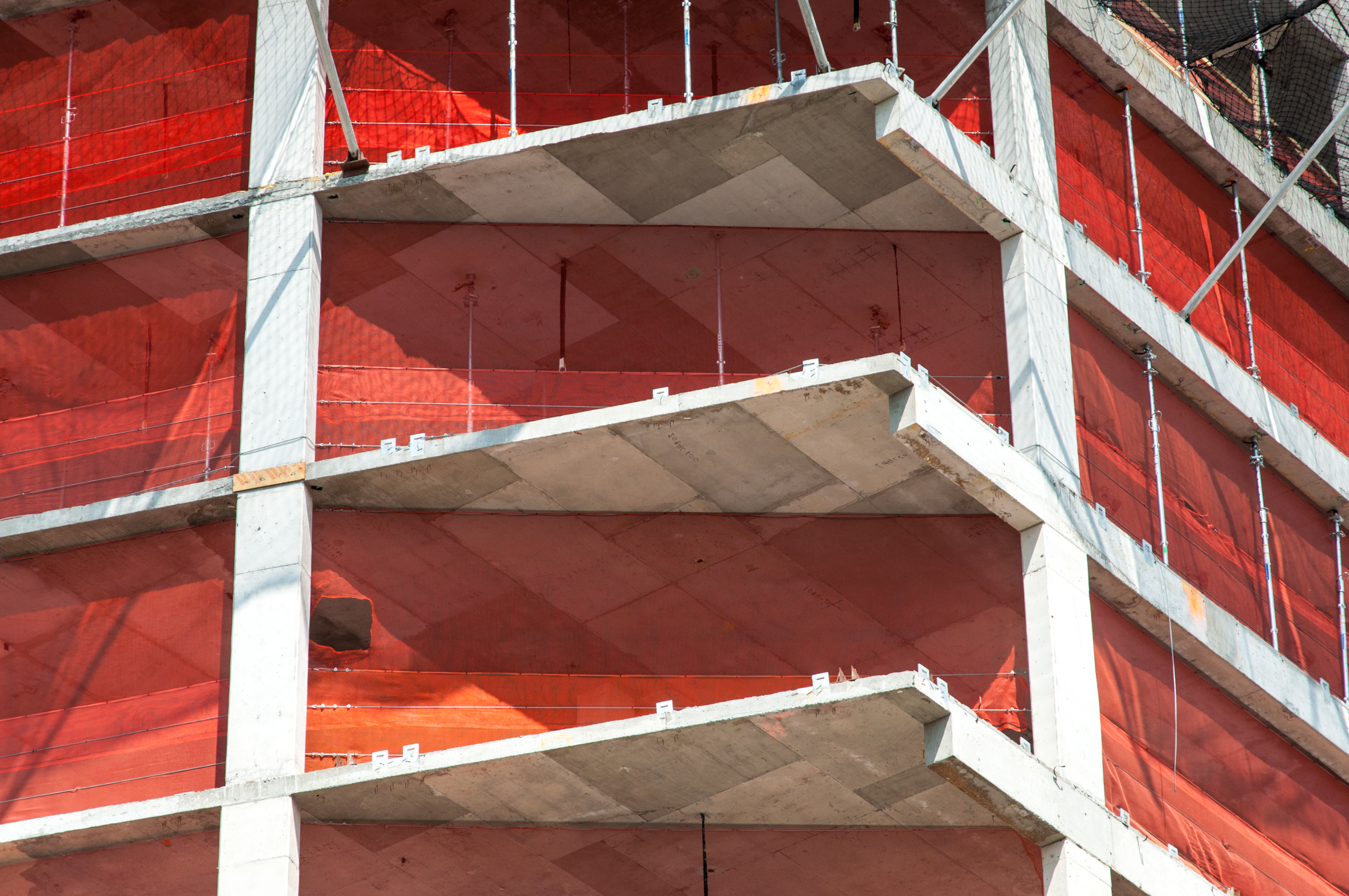 Tower corner detail.