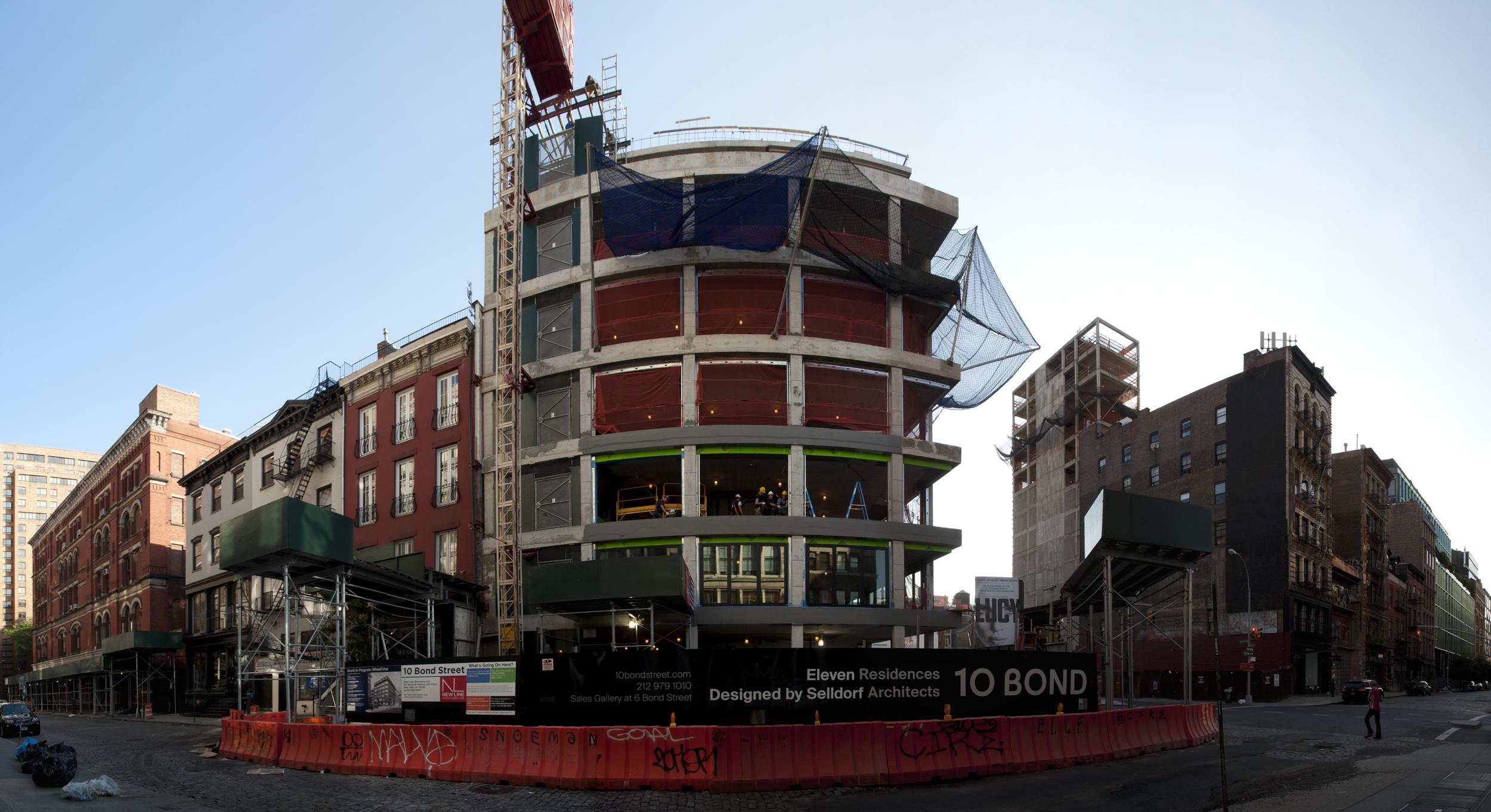 The Bond Street facade.