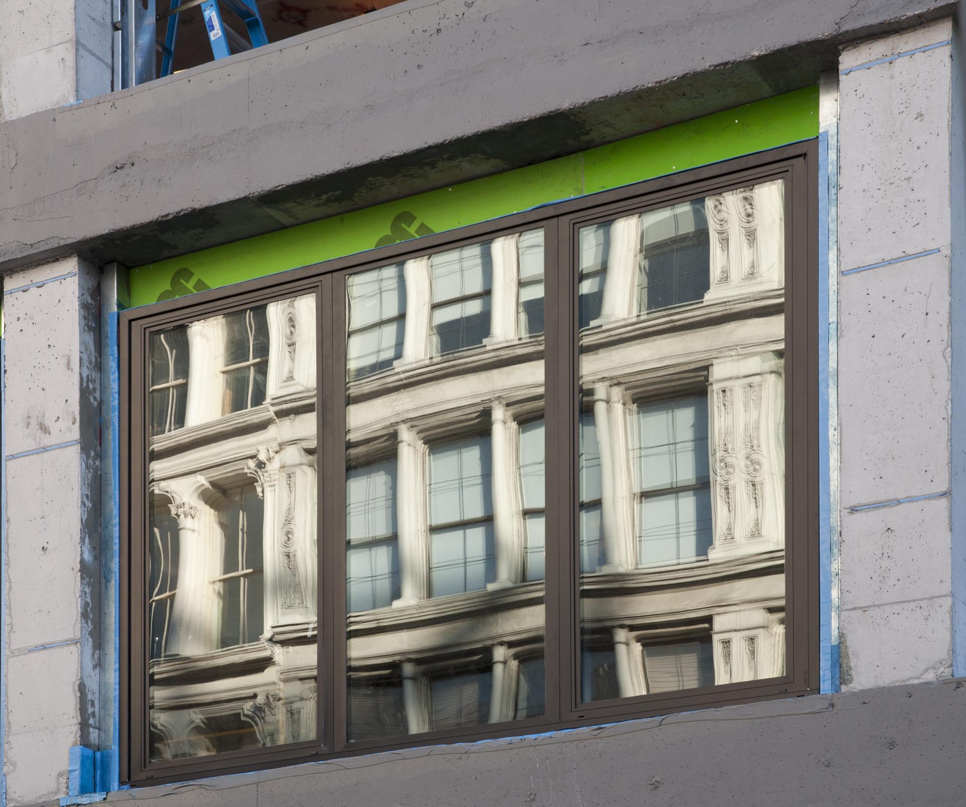 Window unit.