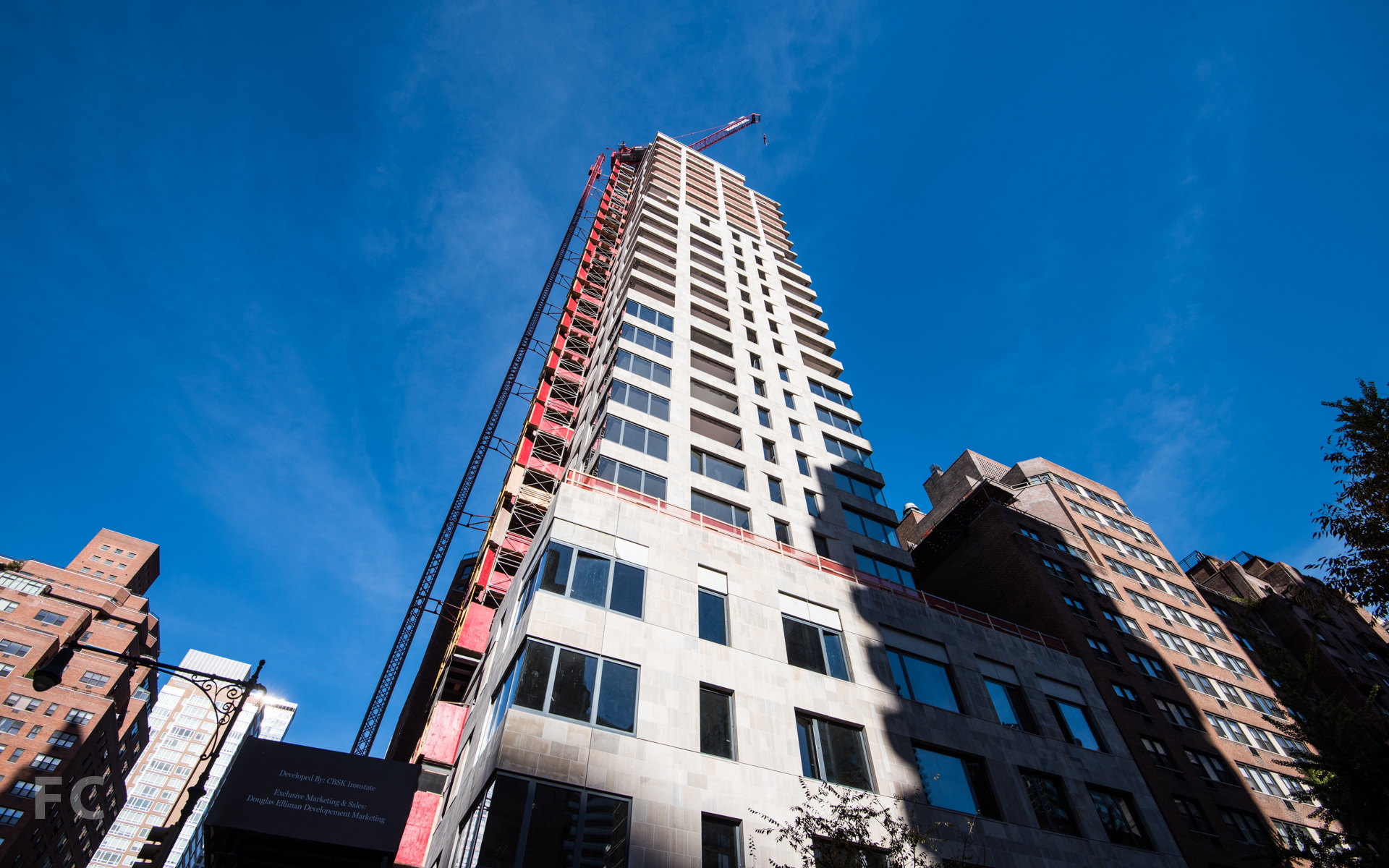 South façade from East 50th Street.