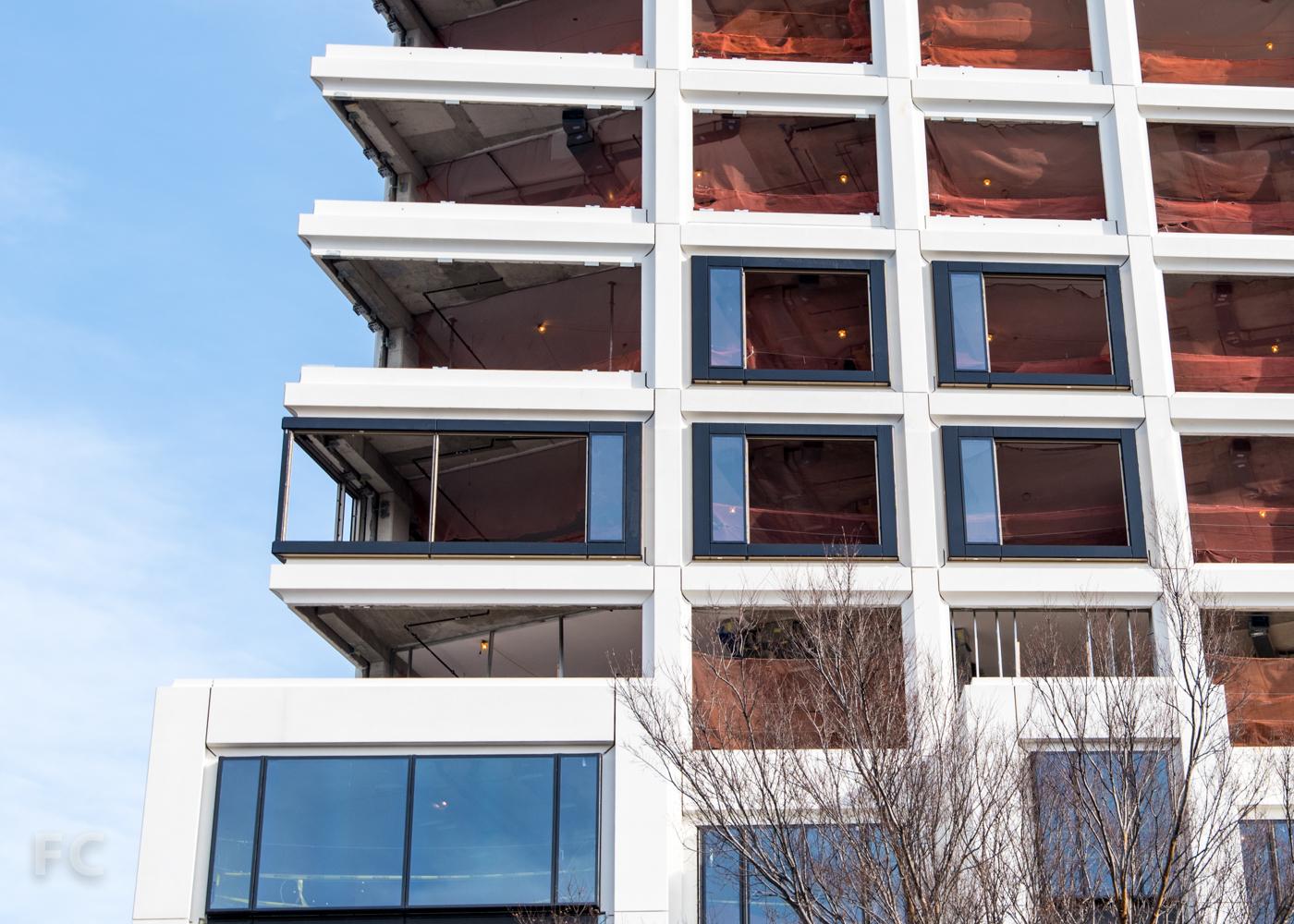 Detail of facade.