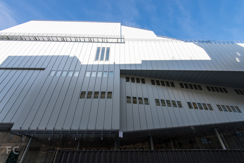 South facade from Gansevoort Street.