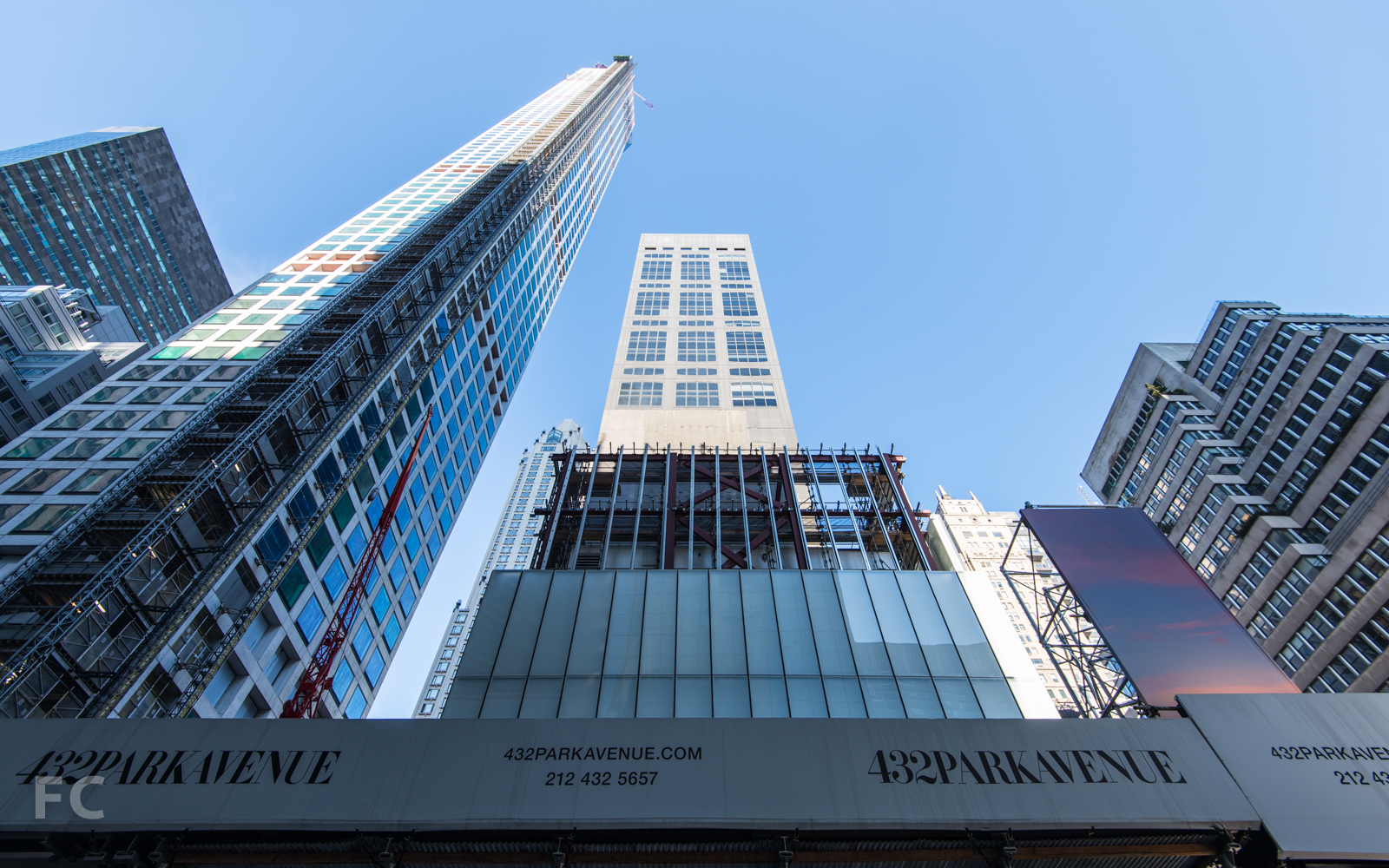 South facade from East 56th Street.