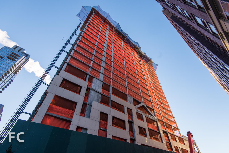 North facade of 21 West End Avenue.
