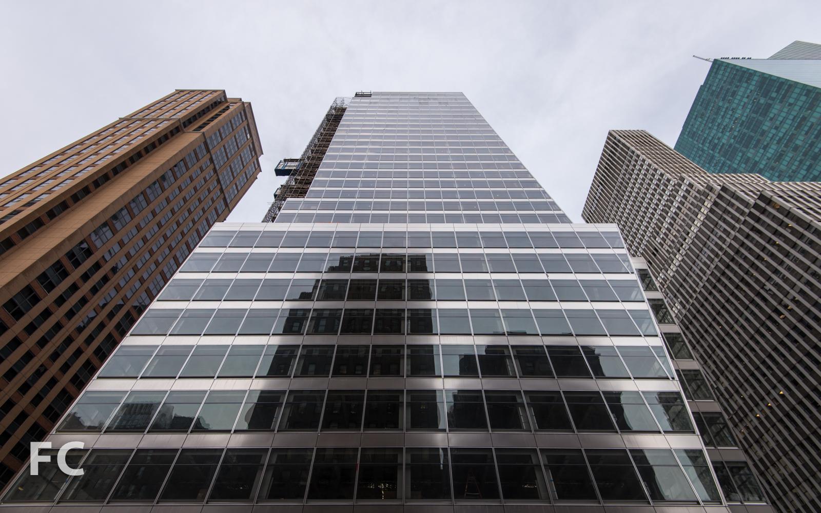 East façade from Sixth Avenue.