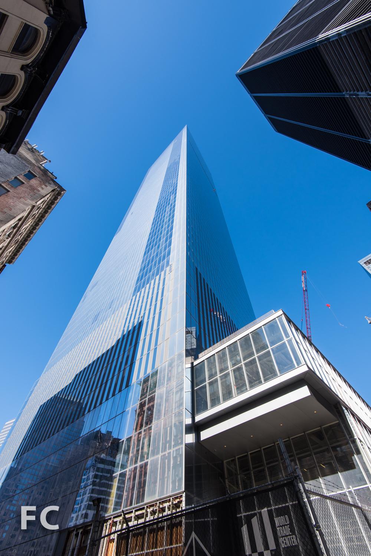 Southeast corner of 4 World Trade Center from ChurchStreet.