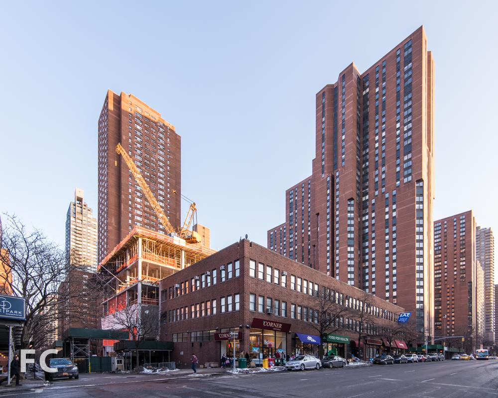 Northwest corner from Third Avenue.