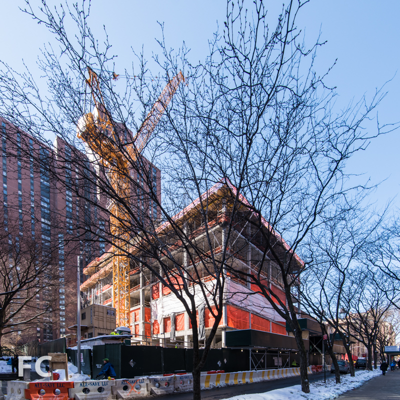 Northeast corner from East 93rd Street.