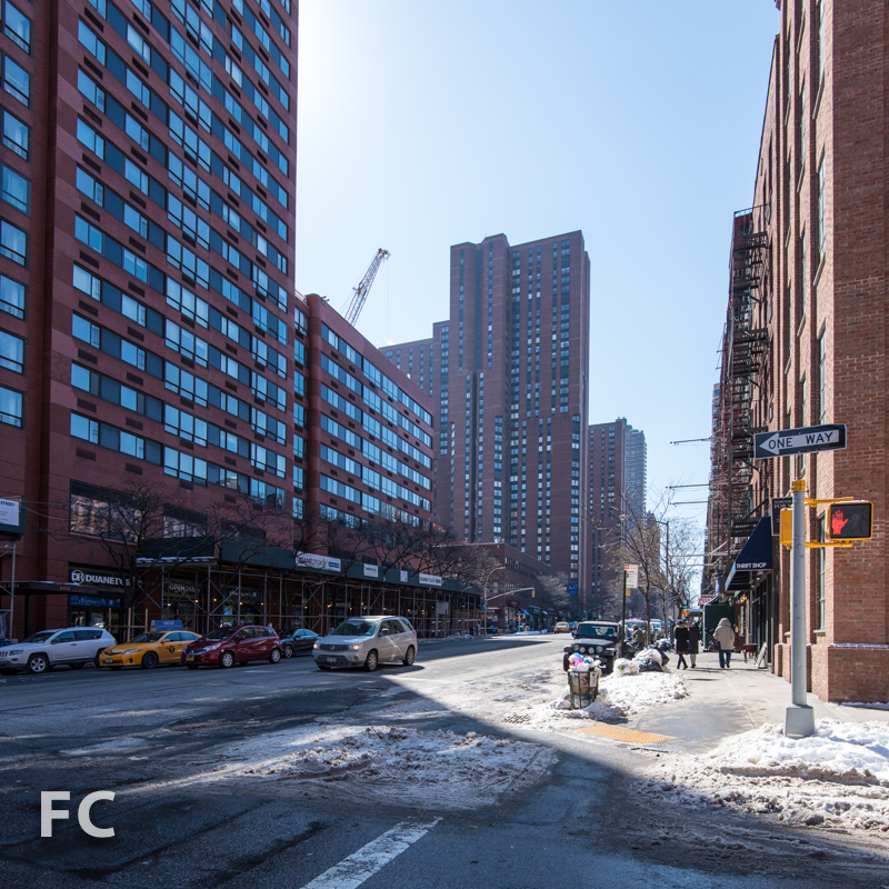 Looking south on Third Avenue at East 94th Street.