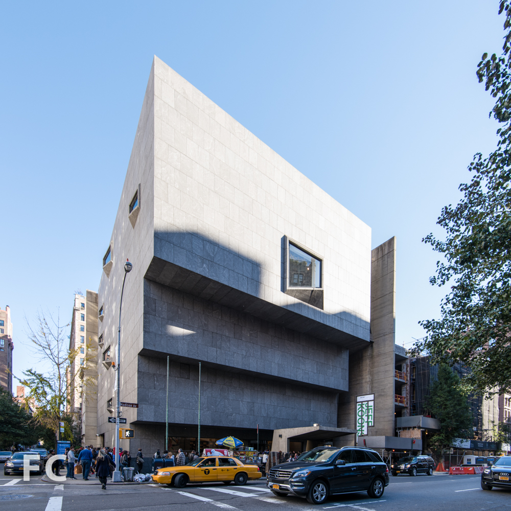 The Whitney Museum by Marcel Breuer, 1966.
