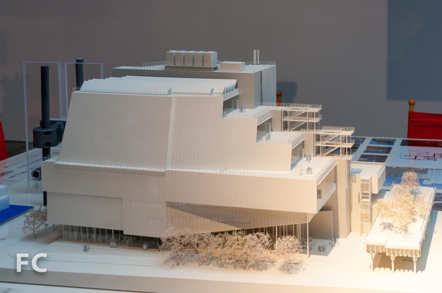 Presentationmodel of final design.
