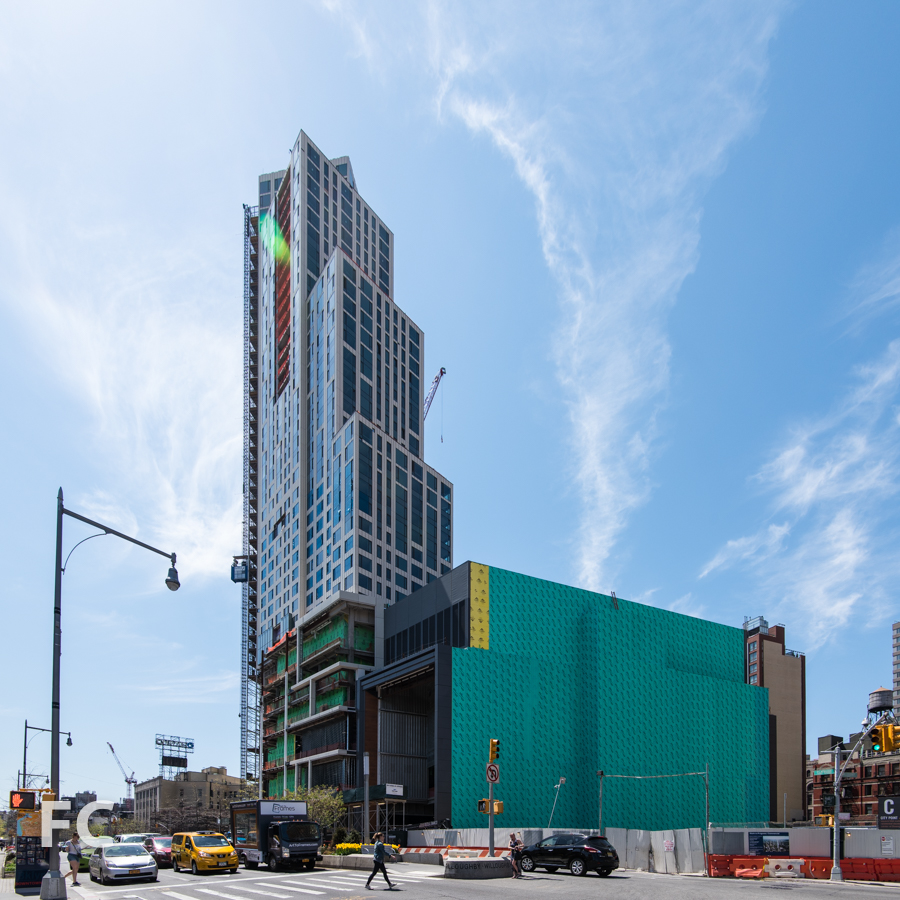 The northeast corner of Phase Two from Flatbush Avenue.