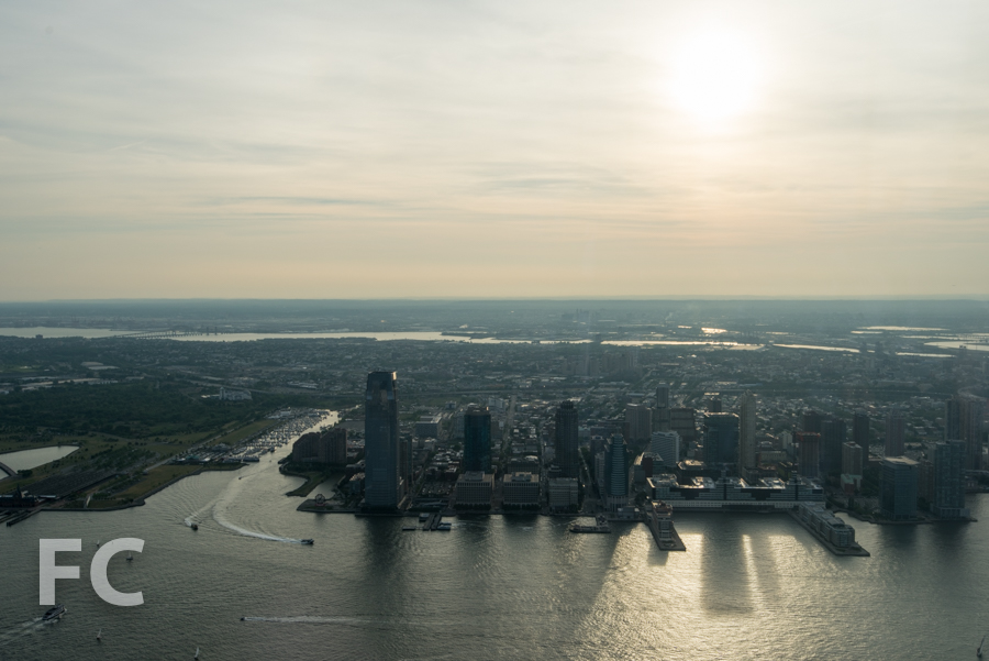 The Jersey City waterfront.