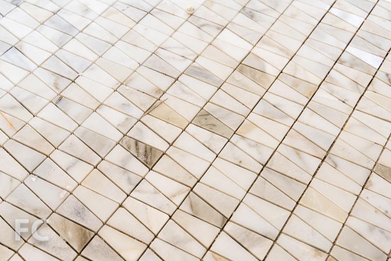 Master bathroom floor tile.