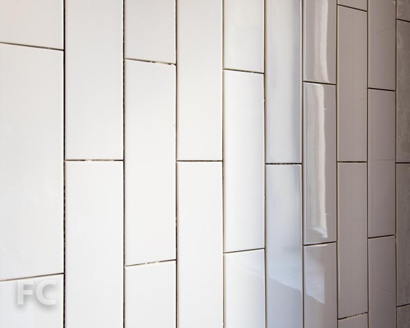 Secondary bathroom wall tile.