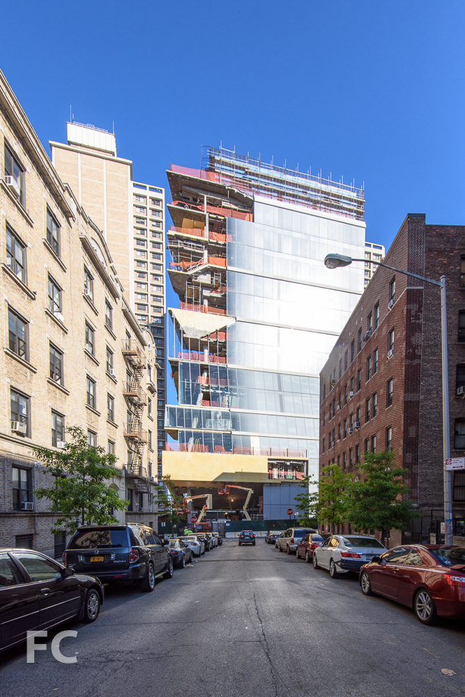 East facade from West 171st Street.